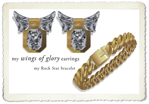 2wings of glory earrings