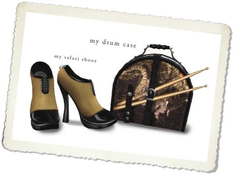 my drumcaseand shoesangle